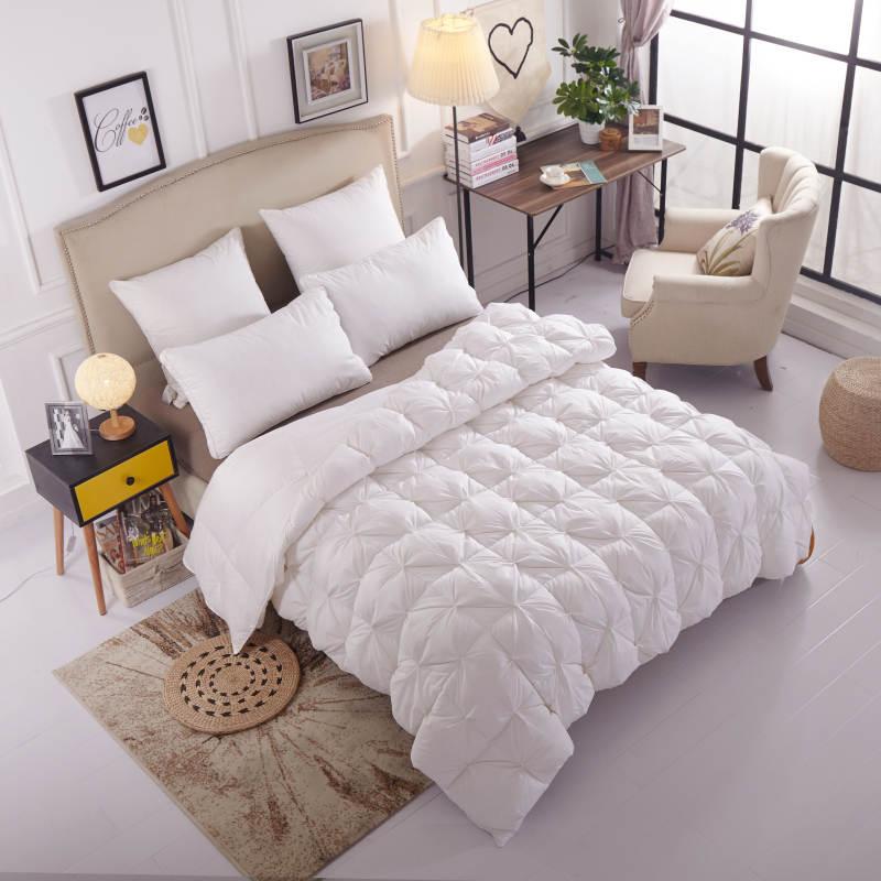 Уникальное теплое зимнее пуховое одеяло с натуральным гусиным принтом/одеяло с хлопковым материалом, мягкий пододеяльник, Королевский раз