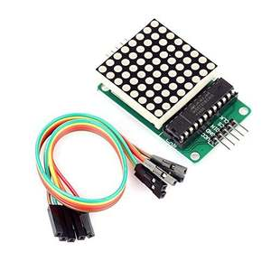 10Pcs/lot MAX7219 Dot Matrix Module Finished Product for Arduino