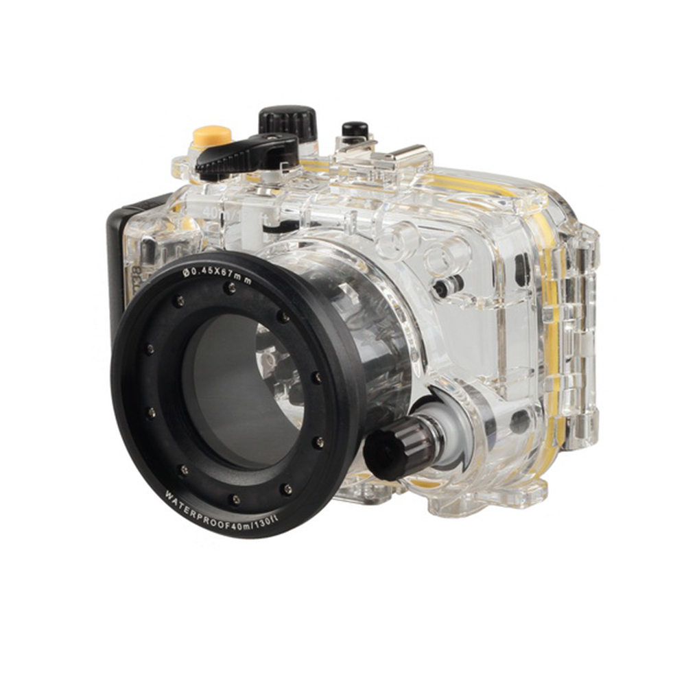40m/130ft Underwater Diving Waterproof Case Housing for Sony DSC-RX100 Camera