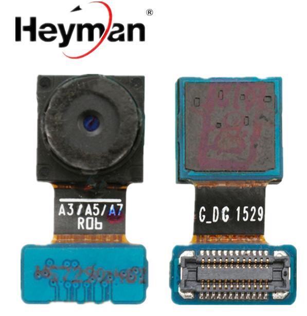 Heyman Camera Module For Samsung Galaxy A5 A3 A7 SM-A500FU A300F A700F Front Facing Camera Replacement Parts