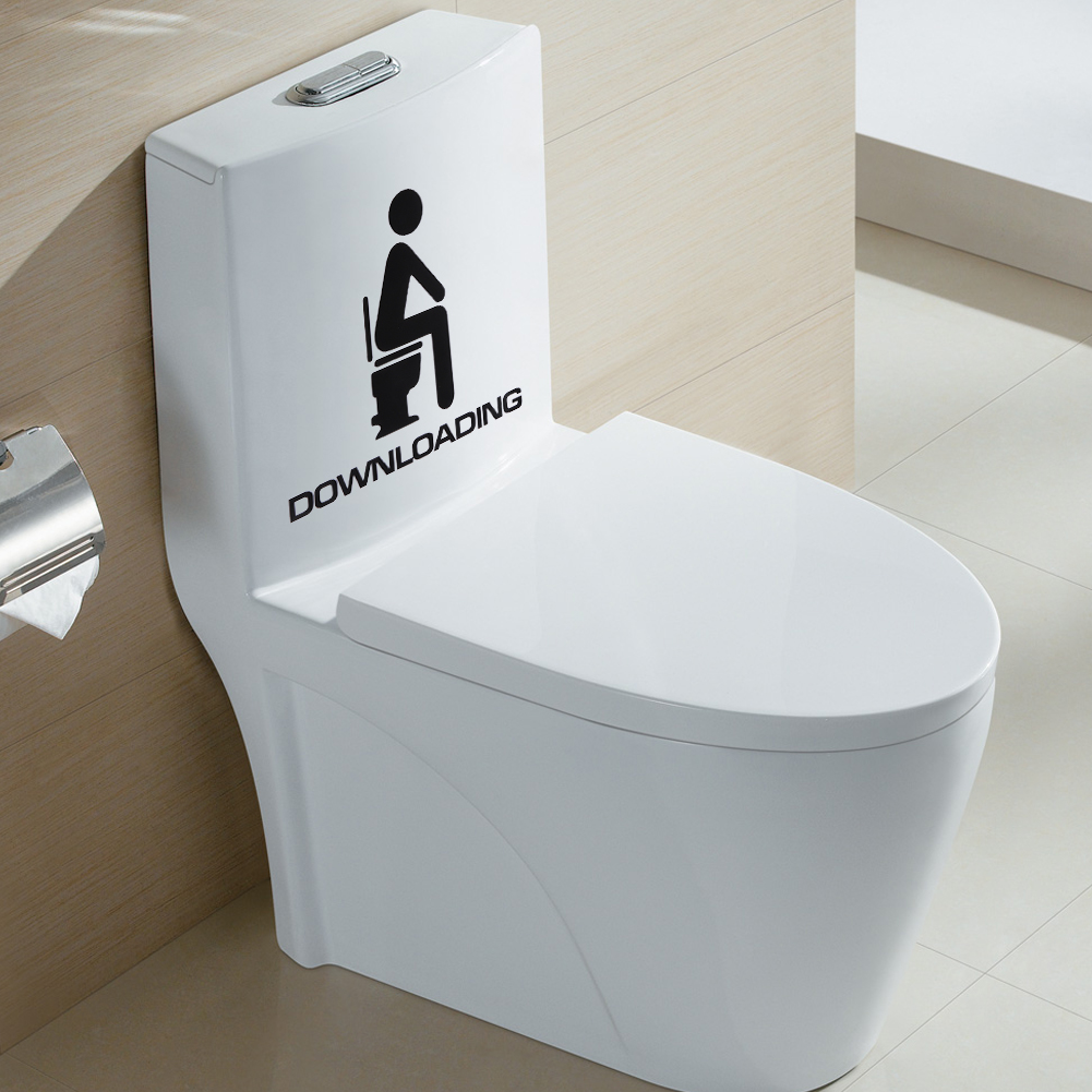 Prime Us 0 8 17 Off Funny Removable Diy Toilet Seat Decorative Decals Wc Bathroom Mildew Proof Art Vinyl Wall Sticker With Downloading Letters In Wall Ibusinesslaw Wood Chair Design Ideas Ibusinesslaworg