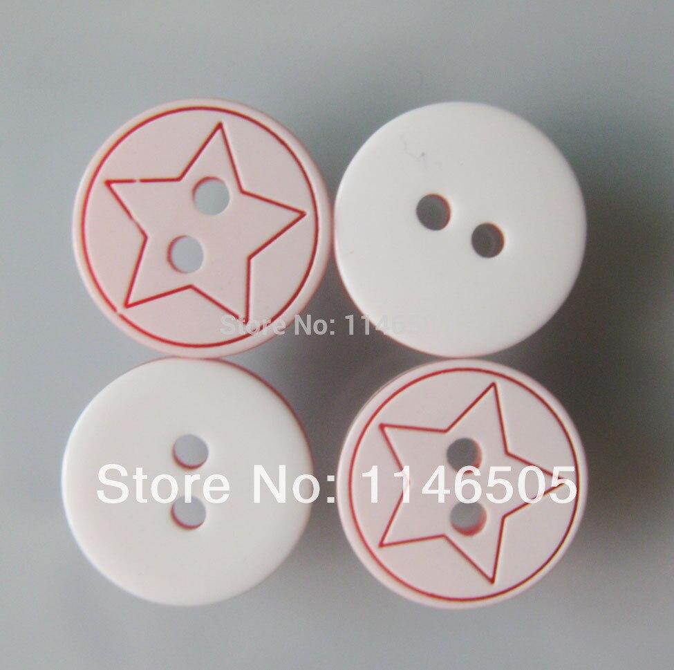 っResina botón 100 unids/lote 12.5mm moda Botones camisa Tallados ...