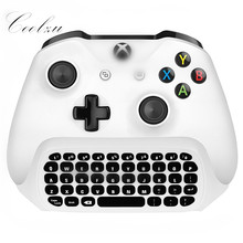 New 2.4G Mini Wireless Chatpad Message Keyboard for Microsoft Xbox One Controller with 3.5 Audio Jack