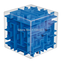 1 stücke Labyrinth Magic Cube Puzzle 3D Mini Speed Cube Labyrinth rollende Kugel Spielzeug Puzzle Spiel Cubos Magicos Lernspielzeug Für kinder