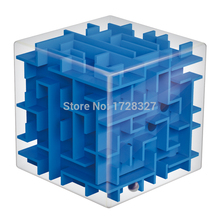 1pcs Maze Magic Cube Puzzle 3D Mini Speed Cube Labyrinth Rolling Ball Toys Puzzle Game Cubos Magicos Learning Toys For Children 3d cube puzzle maze toy hand game case box fun brain game challenge fidget toys balance educational magicos toys for children