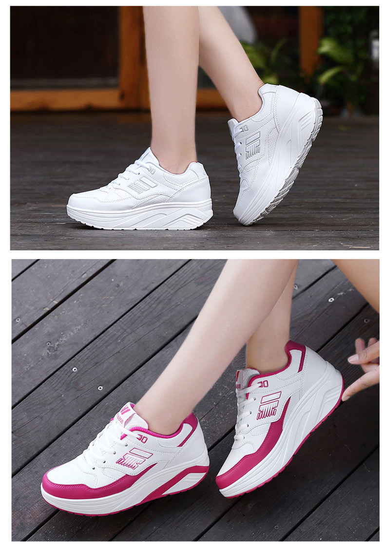 3c0bb99f756 ... Autumn winter outdoor Girls Sneakers Platform Running Shoes for Women  Sneakers Sports Shoes White Sneakers 4 ...