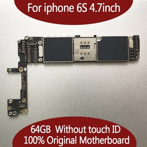 Image 2 - 64GB For iPhone 6s Motherboard without Touch ID,Original unlocked for iphone 6s Mainboard,100% Good Working