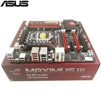 Asus Maximus III Gene Original Nueva Placa Base De Escritorio M3G P55 Socket LGA 1156 DDR3