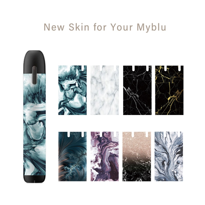 SHIODOKI 2 Pack myblu Skin Decal for Pax my blu 2.5D Technology Ultra Thin Protective Sticker for myblu Wraps Cases  Marble|Phone Sticker & Back Flim| |  - title=