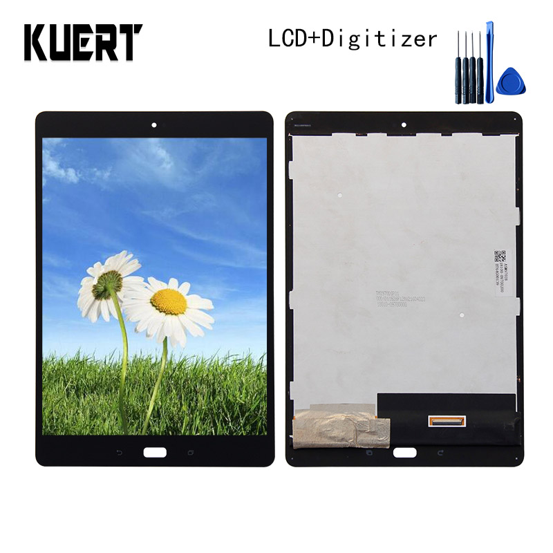 Panel LCD Combo Touch Screen Digitizer Glass LCD Display Assembly For ASUS ZenPad 3S 10 Z500KL Z10 ZT500KL Accessories Parts lcd display panel screen monitor touch screen digitizer glass assembly with frame for asus zenpad 3s 10 z500m p027