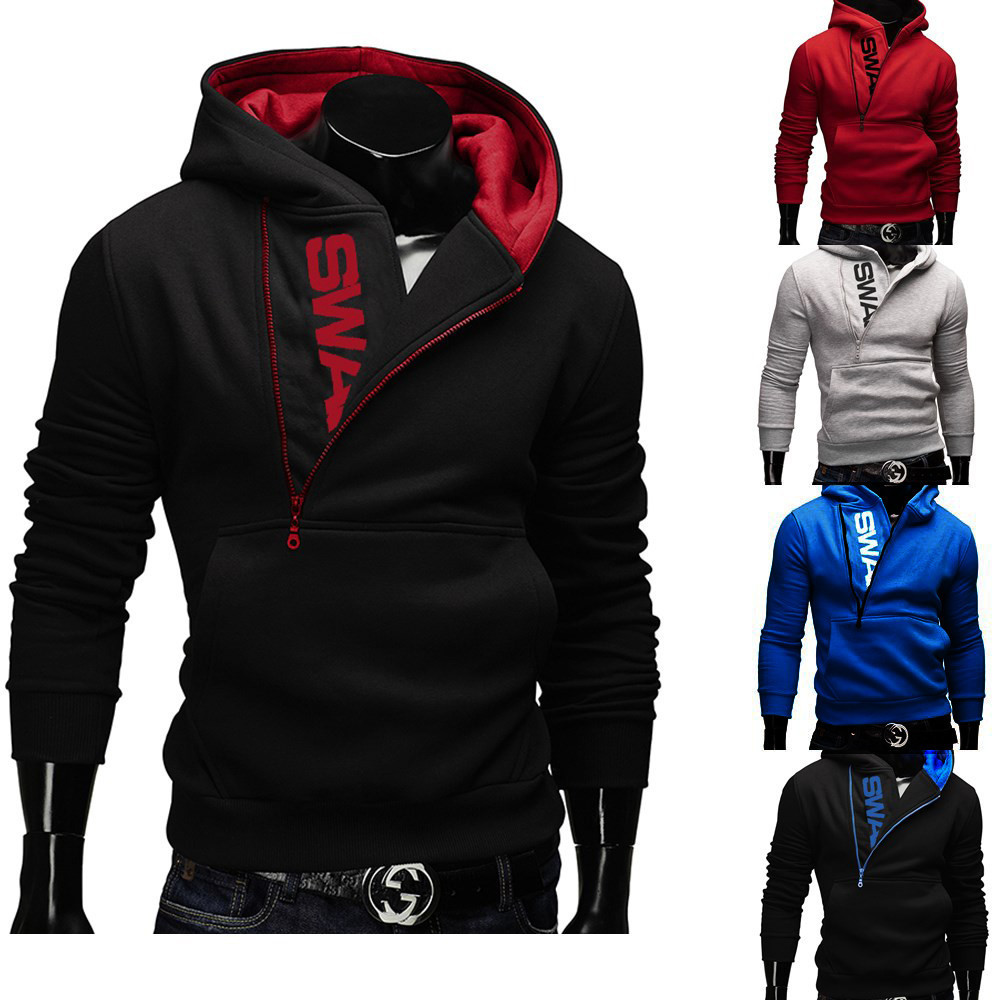 Compare Prices on Mens Side Zipper Sweater- Online Shopping/Buy ...