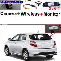 Liislee 3 in1 Special Rear View Camera + Wireless Receiver + Mirror Monitor Easy DIY Parking System For TOYOTA Matrix 2008~2014
