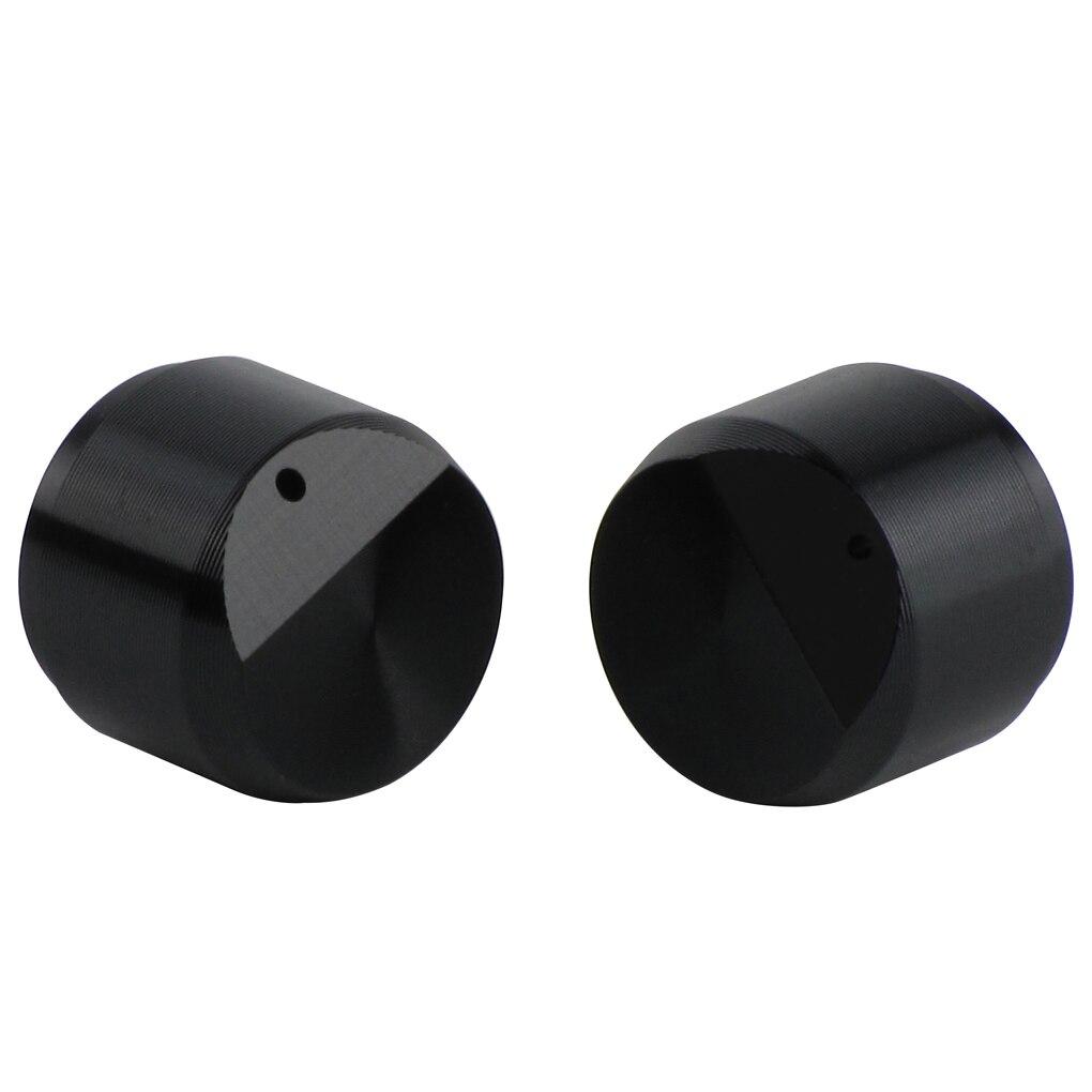 Guitar Parts & Accessories New 6pcs Aluminum Plastic Potentiometer Volume Knobs Audio Amplifier Effect Pedal Knobs Black 6mm D Shaft Hole For Zoom A3 Sports & Entertainment