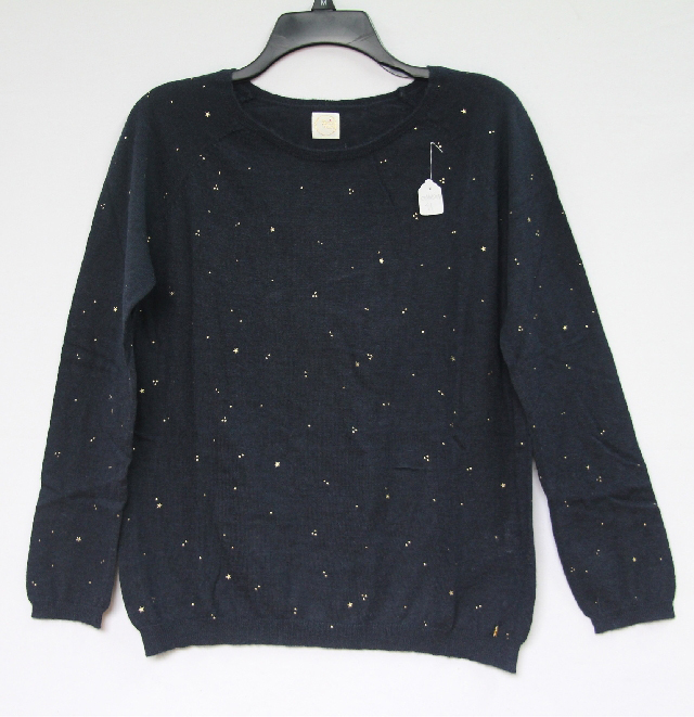 Twinkle Rond Pull Blouse Col Grey Light Chanson Français Marine rSxPqwrB