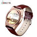 HRAEFN Q8 Fashion Smart Watch Heart Rate monitor Bluetooth Smartwatch reloj intelige For IOS Android PK samsung gear s3 s2 kw88