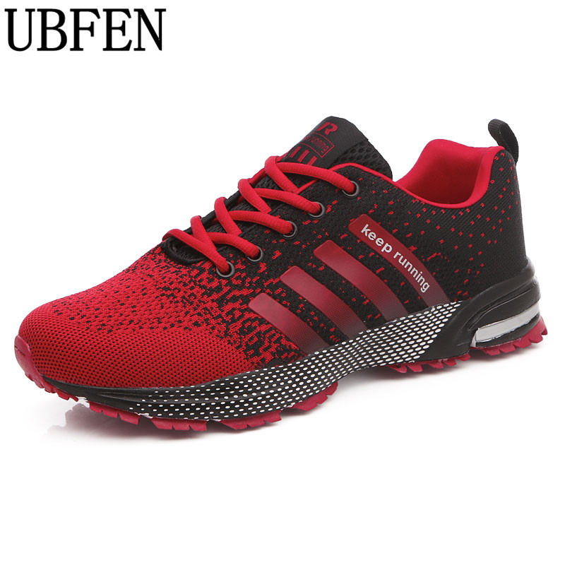 UBFEN Hot Casual Shoes For Men Autumn Summer lovers shoes Fly Weave Light Breathable Comfortable Fashion Male Shoes Plus Size 47
