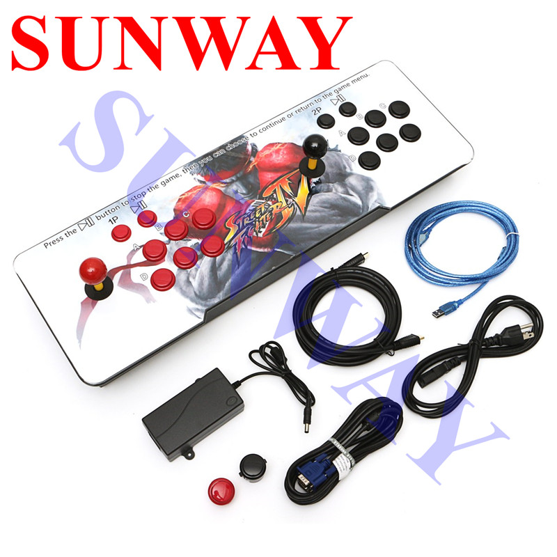 New-design-box-5S-plus-999-in-1-Home-Arcade-Game-Console-for-TV-Monitor-Support