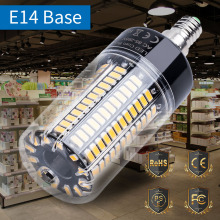 цена на E27 Corn Bulb LED Lamp 5736 85-265V Energy saving Light E14 Led 110V 3.5W 5W 7W 9W 12W 15W 20W No Flicker Chandelier High lumen