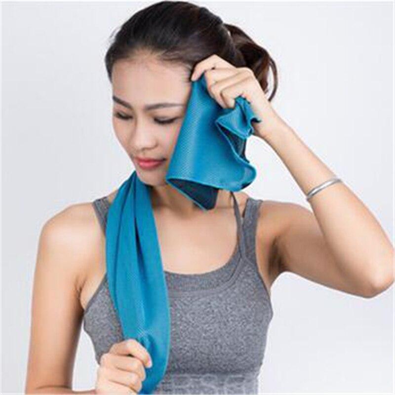 Super Soft Absorbent Fast Drying Sport Towel Magic Gym Toallas Mocrofibra Sport Camping Frozen Terry Towels Washcloth QQC276