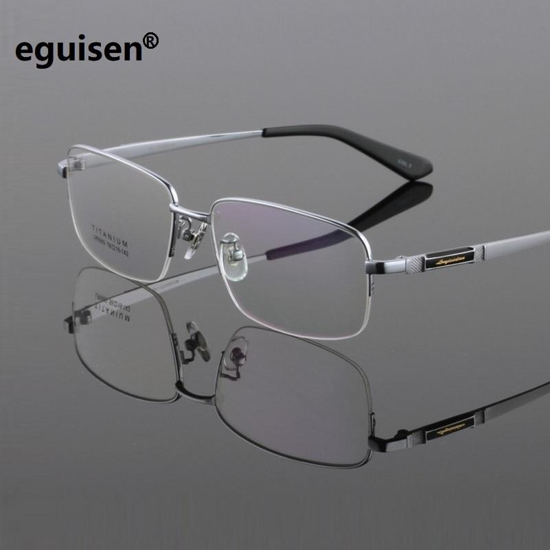 Ширина-150 новый чистый Titanium очки кадр мужчин бизнес мужской оправа для очков ультра-легкий Большой лица комфортно зеркало миопия