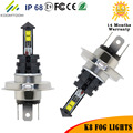 2pcs LED Fog Light Bulb Socket H4 H7 H1 H3 H8 H11 LED Fog Lamps 6000K 40W 420LM 80W Auto LED Bulb  Free Shipping
