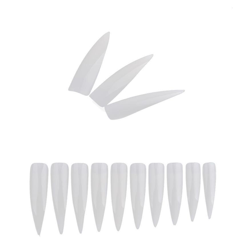 500PCS Conjunto mezclado Falsos puntas largas para uñas Artificial - Arte de uñas - foto 1