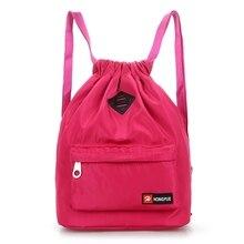2019 new Nylon Backpack Waterproof Drawstring Sport Bag For Men Women