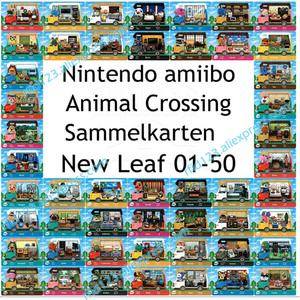 Image 1 - 50pcs NFC כרטיס עבודה עבור Animal Crossing חדש עלה בברכה NFC הדפסת כרטיס