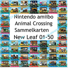 50pcs NFC Card Work For Animal Crossing New Leaf Welcome NFC Printing Card