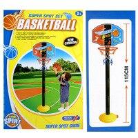 Giocattolo Sport Basket Regolabile Stand Bambini Giocattolo Palline di Plastica Ragazzi Giocattoli All'aria Aperta Palla Da Basket Al Coperto Basket Palla Ragazze Dei Capretti