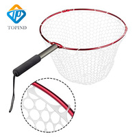Folding Aluminium Alloy Hoop And Collapsible Fishing Handle Portable Fishing Net For Angling And Fly Fishing