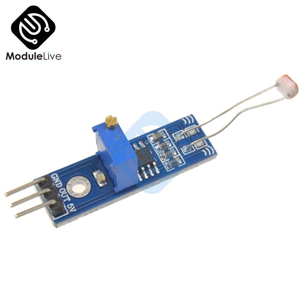 2 Pcs Photowiderstand Erkennung Optische Lichtempfindliche Licht Sensor Board Genauigkeit Einstellbar Für Arduino Lm393 Modul 3,3 V 5 V Gute WäRmeerhaltung