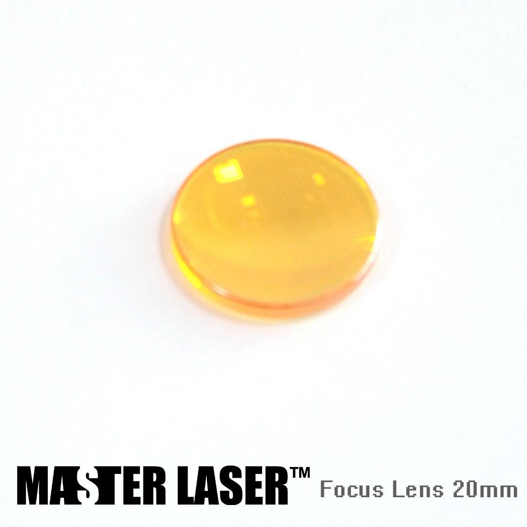 2017 Diameter 20mm CVD CO2 Laser Lens Laser FL 38.1mm 50.8mm 63.5mm 76.2mm 101.6mm 127mm Focus Lens