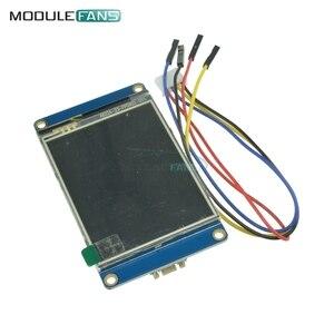 """Image 3 - 2.8 """"Nextion inteligentny Panel wyświetlacza HMI dla Arduino Raspberry Pi 2 A + B + zestawy USART UART szeregowy dotykowy TFT LCD"""