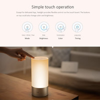 Xiaomi Smart RGBW LED Night Light with Osram LEDs Touch Bluetooth Control 365 Colorful Nights By WiFi Connection Update Version
