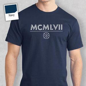 60th Birthday Gift Present Idea For Boys Dad Him Men T Shirt 60 Tee Shirt 1957 Printed T-Shirt 2020 Fashion Brand(China)