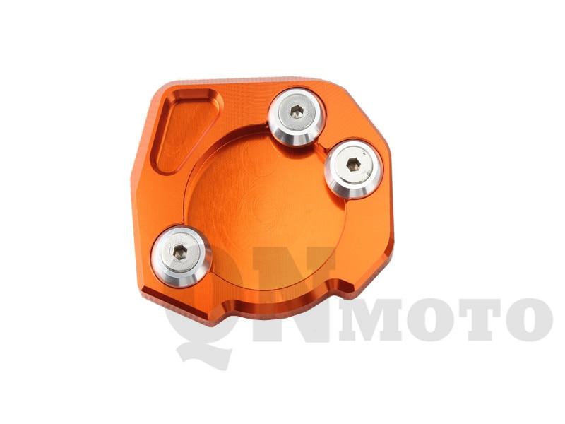 Motor Side Stand Extension Enlarger Pate Pad For KTM 690 Enduro/Supermoto/SM/SMC/SMR/Duke 2007-2014 950 Adventure /LC8 01-06