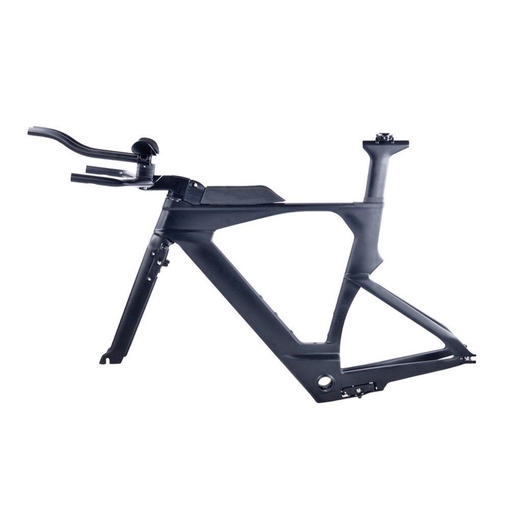 HTB1Ky68j2xNTKJjy0Fjq6x6yVXaK - 2018 New Di2 Carbon TimeTrial Triathlon Frame 700C Ultralight Carbon Carbon TT Bike Frames OEM Carbon TT Bicycle Frameset