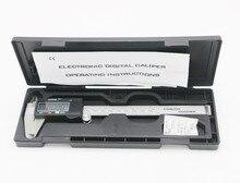 Buy 1pcs New 6″ 150 mm Digital CALIPER VERNIER GAUGE MICROMETER plastic & steel with black box