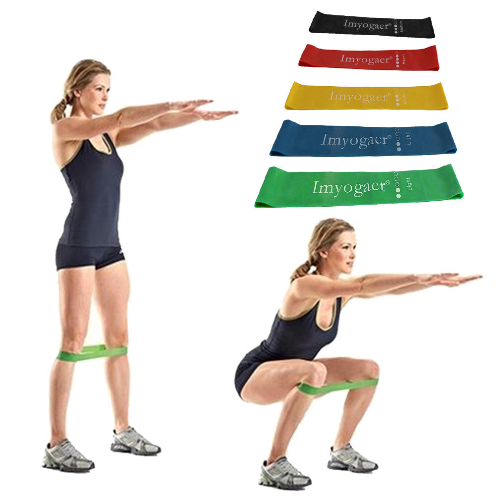 Фитнес оборудования силовых тренировок Эспандеры резиновая Йога петли спортивные упражнения Эластичная лента тренировки Expander