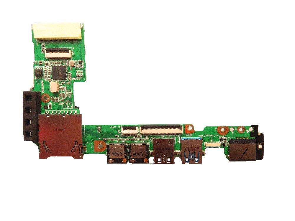 Oryginał do laptopa 1015B płyta IO usb audio czytnik kart sd karton Ethernet LAN