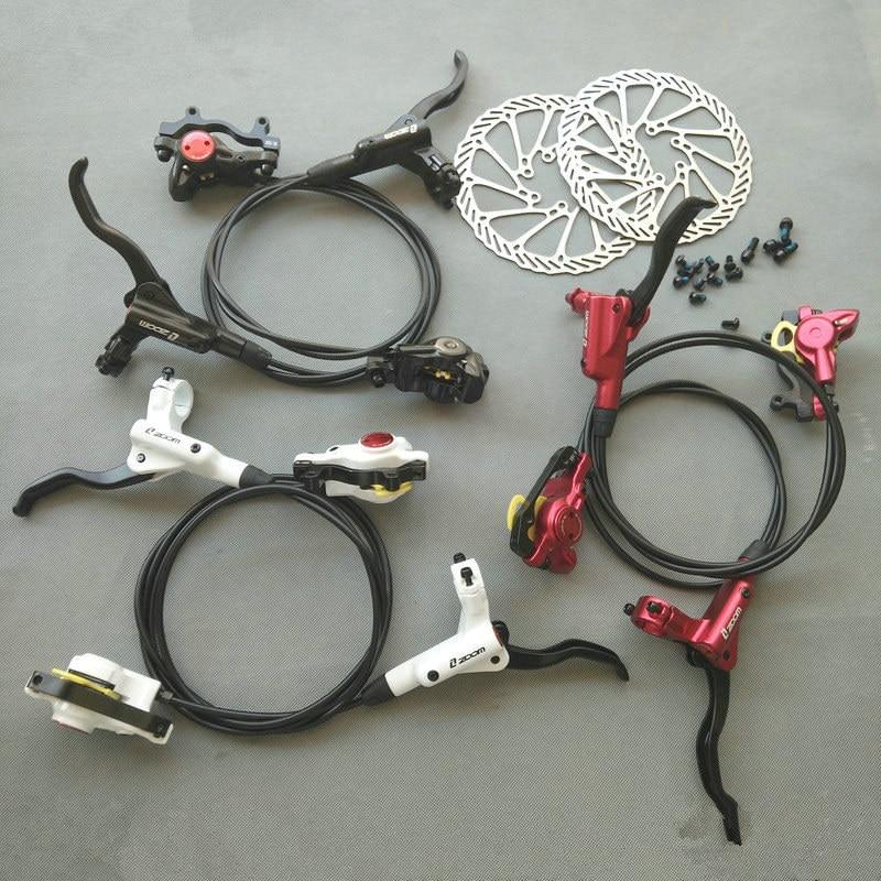 ZOOM HB-870 Hydraulic Disc Brake Mountain Road Bicycle Disc Brake With HS1 Brake Rotor Screws Bike parts Beyond M355/395 tektro 300 hydraulic disc brake