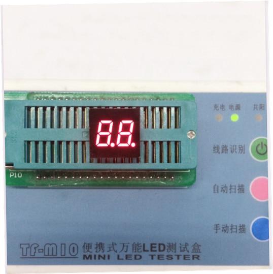 Free Ship 100pc Common cathode/Common anode 0.3inch digital tube 2 bit digital tube display best digital tube Red