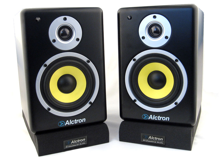 Alctron Ms-1 Desktop Monitor Lautsprecher Isolators Professionelle Monitor Lautsprecher Panels Einstellbare Winkel Ein Stück Unterhaltungselektronik