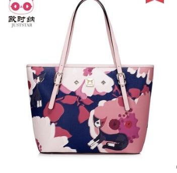 Princess sweet lolita bag Summer and spring casual printing handbag fashion women shoulder bag and special totte bag 170942 sweet women s shoulder bag with lace and straw design
