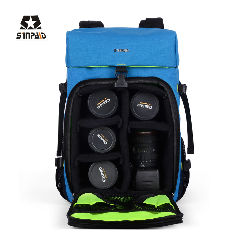 Aliexpress.com : Buy SLR/DSLR waterproof camera bag photo backpack ...
