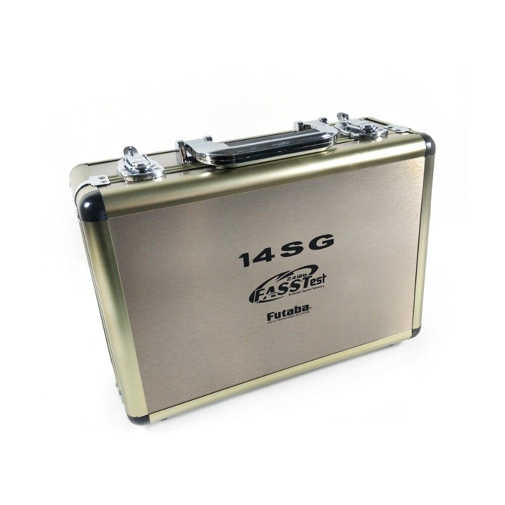 Le plus récent boîtier en aluminium de télécommande de Radio de Drone de RC avancé pour futaba 14SG 10C 8FG 10J 8J T6K