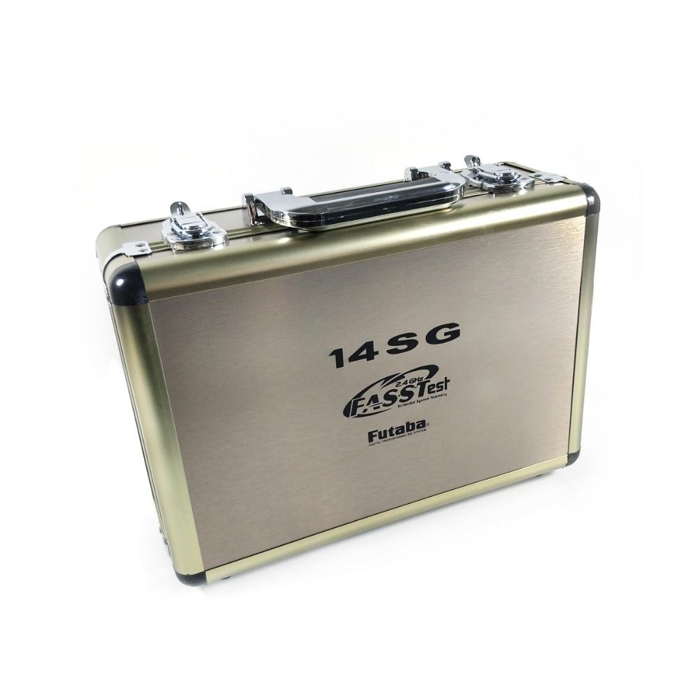 Le plus récent boîtier en aluminium de télécommande de Radio de Drone de RC avancé pour futaba 14SG 10C 8FG 10J 8J T6K-in Pièces et accessoires from Jeux et loisirs    1