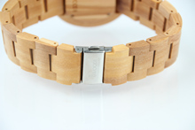Newest Wood Quartz Watch Unisex Sandalwood Maple Natural Business Wristwatch Women Men Wooden Watches 2018 Hot Relogio Masculino