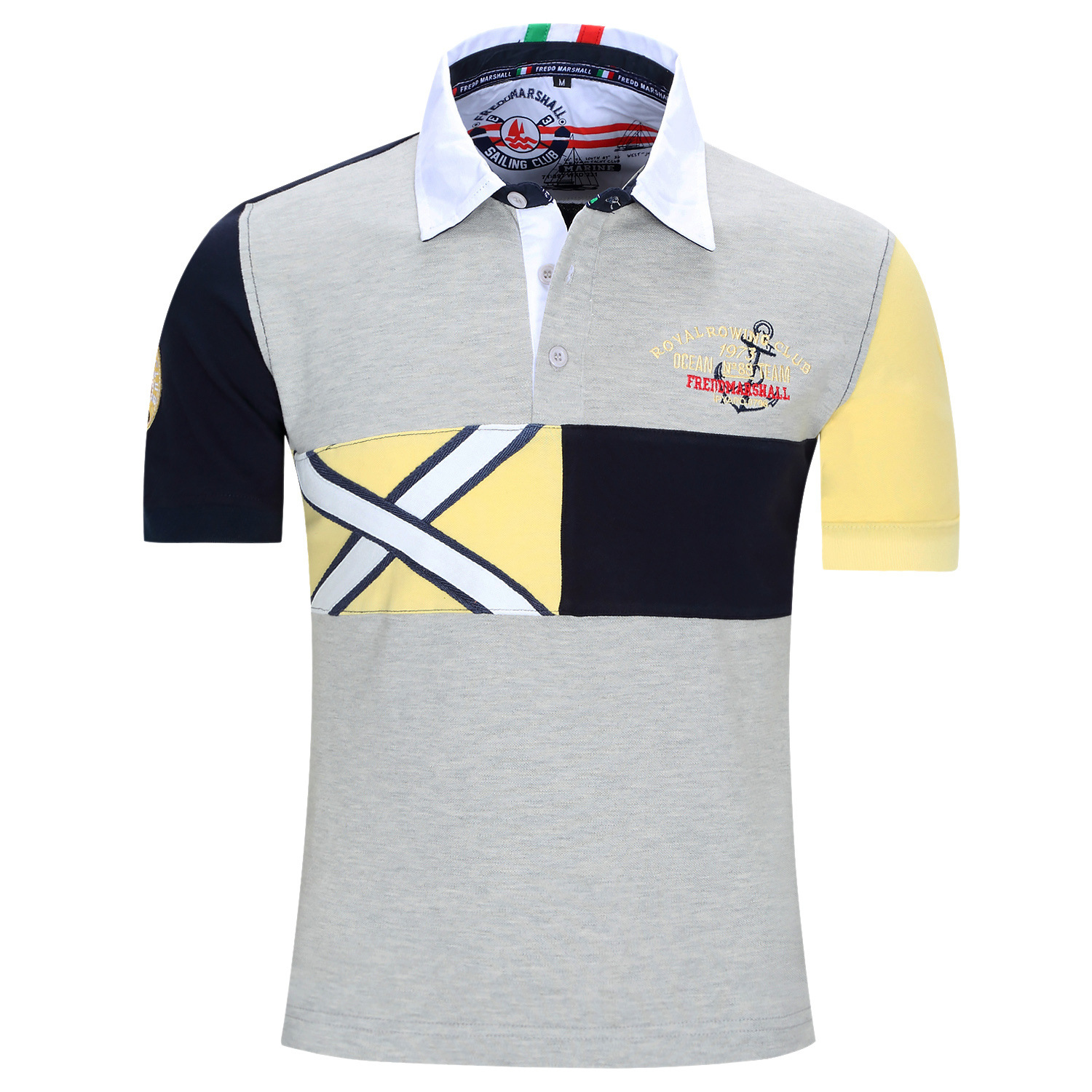 Fredd Marshall Polo Shirt Cotton Euro Size Mens Polo Shirts For Man Turn Down Collar Designer Fashion Polo Tees Tops N09 Mens Designer Polo Shirts Mens Fashion Polo Shirtsmen Polo Shirt Aliexpress